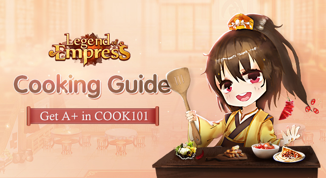 Cooking Guide: Get A  in COOK 101!
