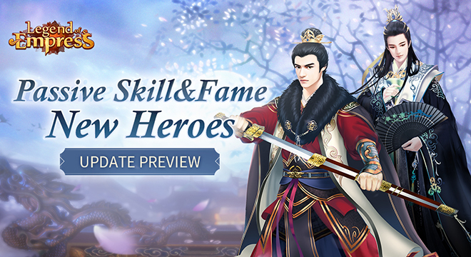 Update Preview: Fame & Passive Skills